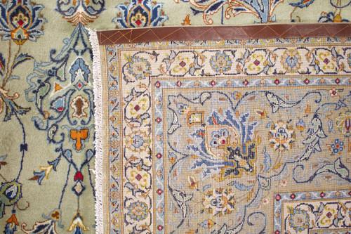 Pistachio Kashan Persian Rug (Ref 2) 470x339cm