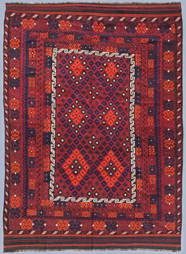Kyber Mori Large Afghan Tribal Kilim (Ref 2557) 402x248cm