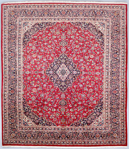 Kashan Classic Red Persian Rug (Ref 350) 397x300cm