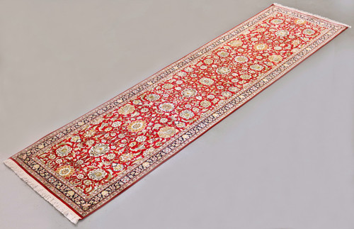 Kashmir Pure Silk Runner (Ref 10) 307x78cm