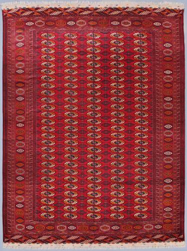 Tekke Main Turkmen Fine Tribal Rug (Ref 88) 367x250cm