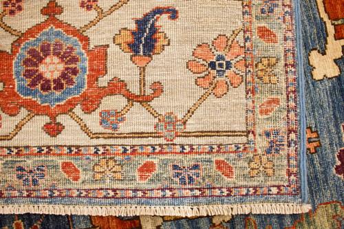 Chobi Farahan Veggie Dye Rug (Ref 2) 354x272cm