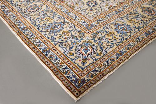 Kashan Pistachio Persian Rug (Ref 276) 400x305cm