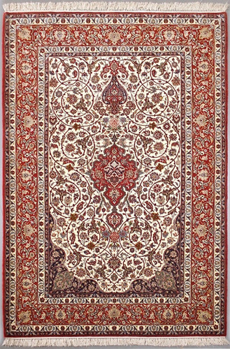 Isfahan Fine Persian Rug (Ref 68) 245x160cm