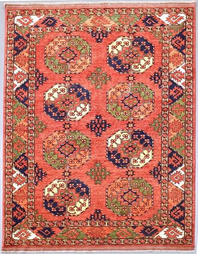 Ersari Fine Veggie Dye Rug (Ref 6) 233x173cm
