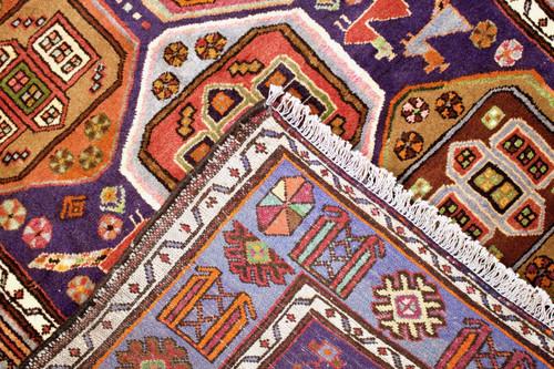 Hamadan Zanjan Vintage Persian Rug (Ref 40694) 202x130cm