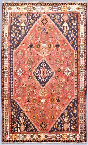 Qashqai Vintage Persian Rug (Ref 7399) 296x170cm