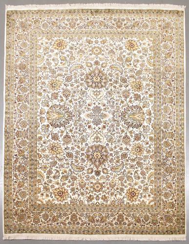 Kashmir Classic Pure Silk Rug (Ref 1236) 301x213cm