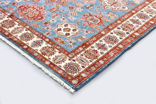 Kazak Farahan Fine Veggie Dye Rug (Ref 5605) 243x185cm