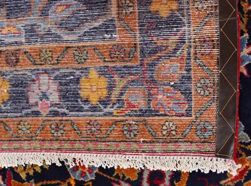 Lilian Blue Village Rug (Ref 6) 289x144cm