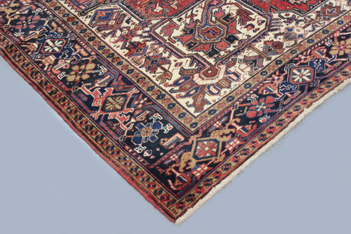 Heriz Fine Antique Persian Village Rug (Ref 12) 335x270cm