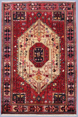 Touserkan Vintage Persian Rug (Ref 44) 210x125cm