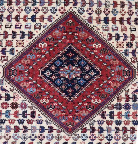 Yalameh Vintage Village Persian Rug (Ref 80) 245x200cm