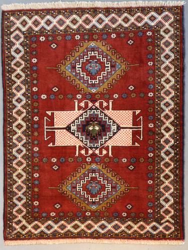 Kurdi Ghouchan Fine Persian Tribal Rug (Ref 446) 166x124cm