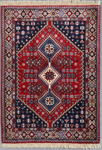 Yalameh Vintage Village Persian Rug (Ref 1124) 147x101cm