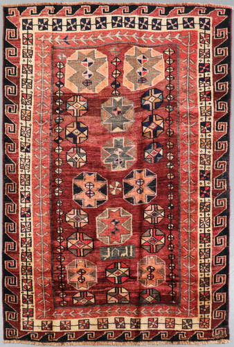 Luri Vintage Persian Rug (Ref 50011) 230x153cm