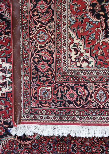 Bidjar Fine Wool & Silk Inlay Persian Rug (Ref 14272) 233x172cm