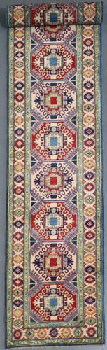 Kazak Veggie Dye Runner (Ref 5118) 502x82cm