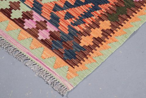 Veggie Dye Afghan Kilim (Ref 105230) 173x135cm