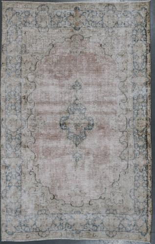 Kerman Vintage Erased Pile Persian Rug (Ref 128) 220x142cm