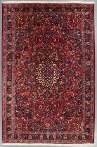 Birjand Fine Regal Red Persian Rug (Ref 327) 310x205cm