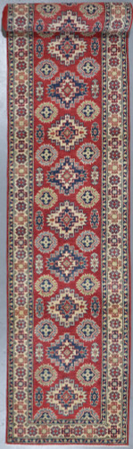 Kazak Veggie Dye Runner (Ref 611) 582x82cm
