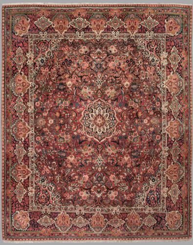 Vintage Mohajeran Sarouk Persian Rug c1950 (Ref 98) 373x315cm