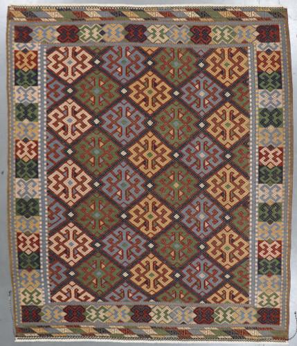 Rajasthan  Veg Dye Kilim Rug (Ref 2) 298x249cm
