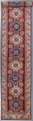 Kazak Veggie Dye Runner (Ref 610) 437x84cm