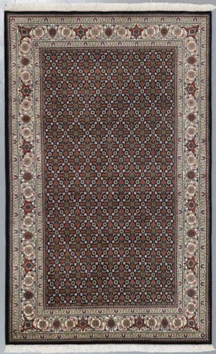 Mahi Tabriz Jaipur Rug Wool and Silk (Ref 92) 199x126cm