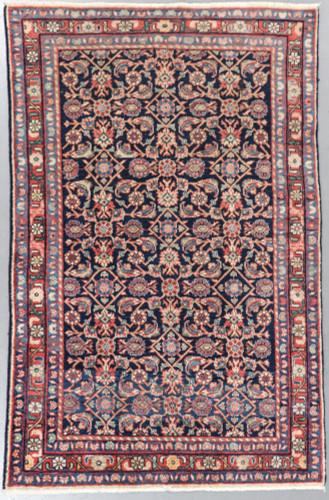 Hamadan Malayer Vintage Persian Rug c1950 (Ref 52) 214x127cm