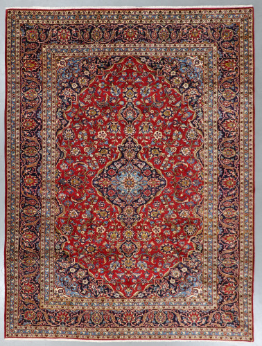 Kashan Fine Lambswool  Persian Rug (Ref 184) 360 x265cm