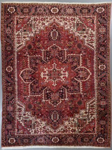 Heriz Vintage Village Persian Rug (Ref 406) 400x291cm