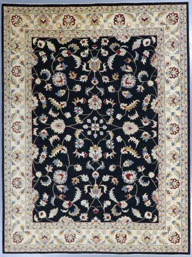 Chobi Black Veggie Dye Rug (Ref 246) 370x275cm