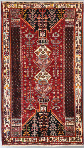 Shiraz Qashqai  Persian Rug (Ref 311) 250x145cm