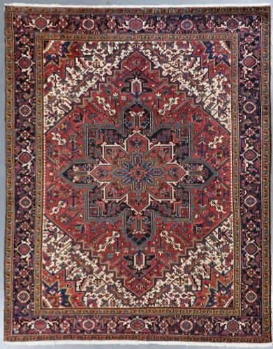 Heriz Fine Vintage Persian Rug (Ref 335) 327x252cm