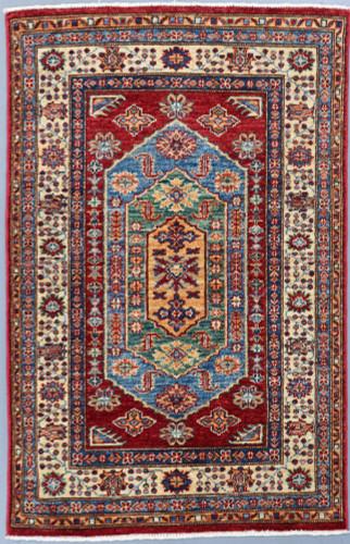 Kazak Farahan Fine Veg Dye Rug (Ref 105) 153x102cm