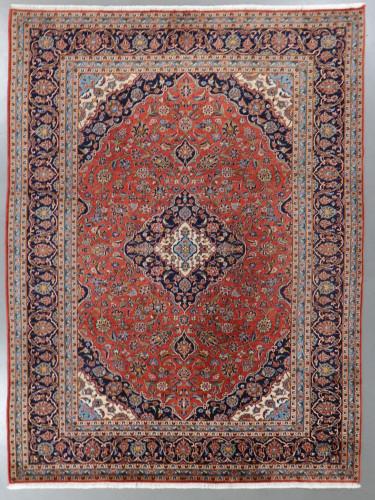 Kashan Fine Lambswool  Persian Rug (Ref 102) 355x250cm