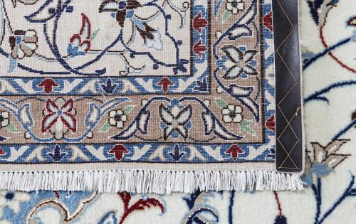 Nain Fine Wool & Silk Inlay 9la Persian Rug (Ref 7156a) 432x301cm
