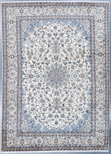 Nain Fine Wool & Silk Inlay 9la Persian Rug (Ref 7156a) 432x301cm