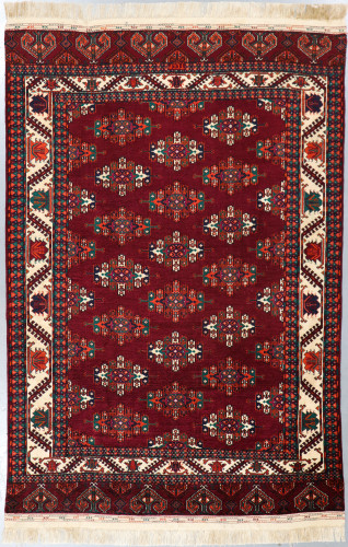 Tajik Fine Vintage Tribal Rug (Ref 455) 294x189cm