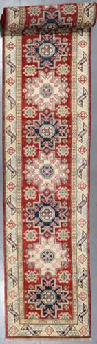 Kazak Veggie Dye Runner (Ref 60013) 552x77cm