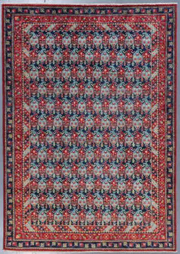 Kazak Farahan Fine Veg Dye Rug (Ref 9227) 241x169cm