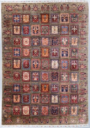 Kazak Ferehan Khorjin Fine Veg Dye Rug (Ref 307) 291x206 cm