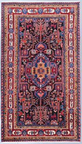 Nahavand Vintage Persian Rug (Ref 50358) 301x159cm