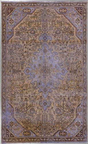 Zero Pile Tabriz Vintage Persian Rug (Ref 213) 245x150cm