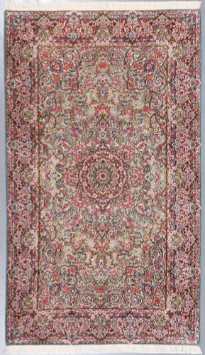 Kerman Pictorial Vintage Persian Rug (Ref 306) 240x145cm
