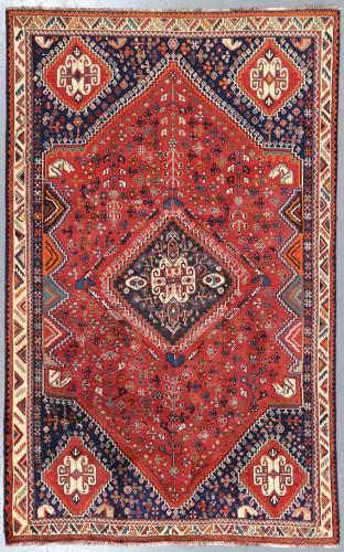Shiraz Qashqai  Persian Rug (Ref 145) 245x155cm