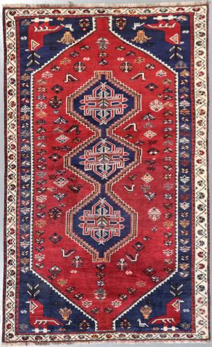 Shiraz Qashqai  Persian Rug (Ref 295) 245x155cm