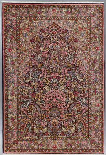 Kerman Pictorial Vintage Persian Rug (Ref 257) 305x200cm